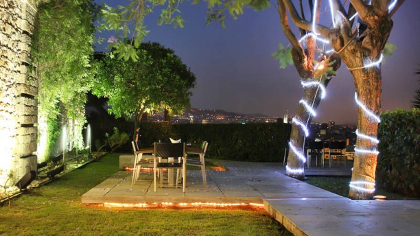 Miramar Restaurant Garden & Club Vista terraza