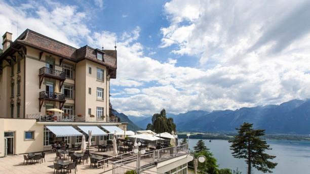 C t lac in montreux restaurant reviews menu and prices - Restaurant cote jardin lac 2 ...