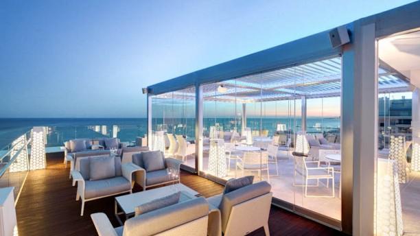 Belvue Rooftop Bar Marbella Terraza
