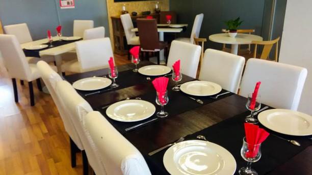 Restaurante Aeropuerto la Seu d'Urgell VIsta de la sala