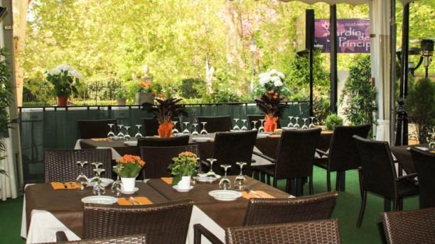Jardín del Príncipe La terraza
