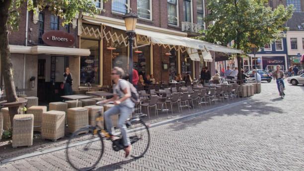 Broers Stadscafé-Restaurant Terras