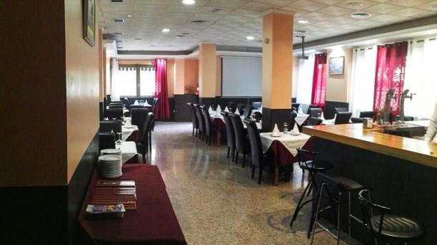 Delicias de India Sala del restaurante