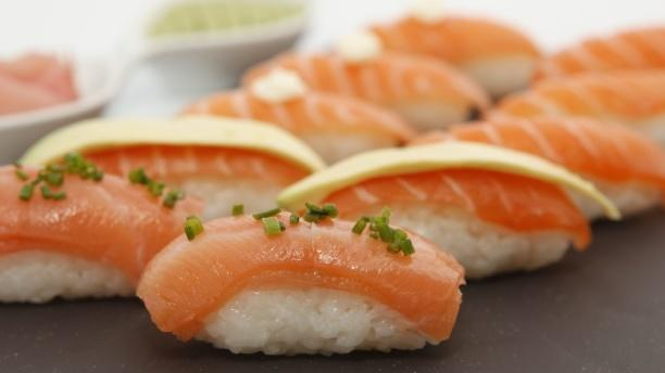Sushi's Fresh Crazy Salmon