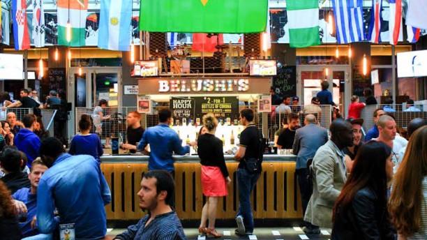 Belushi's Gare du Nord Vue de l'intérieur