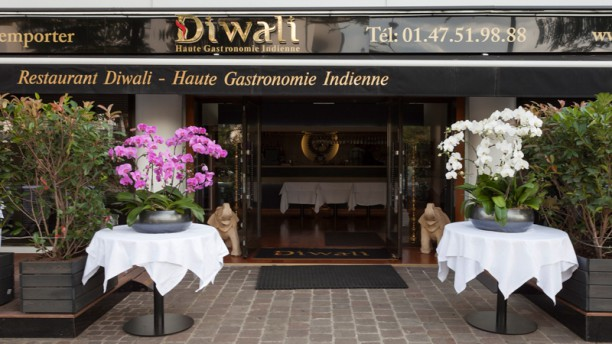 Restaurant Diwali A l'arrivée