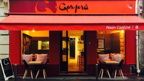 G by Gaspard Naan Cantine Pigalle G by Gaspard Naan Cantine