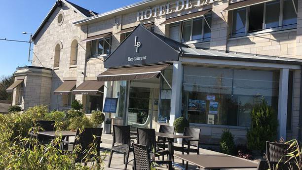 Hotel de la Paix Restaurant terasse