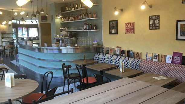 Le Ryss Café Vue de l'intérieur