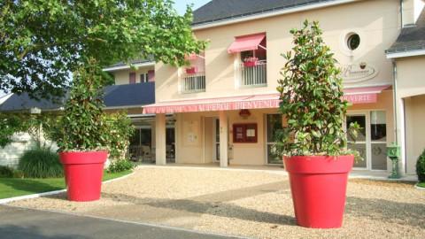 restaurant - Auberge Bienvenue - Ambillou-Château