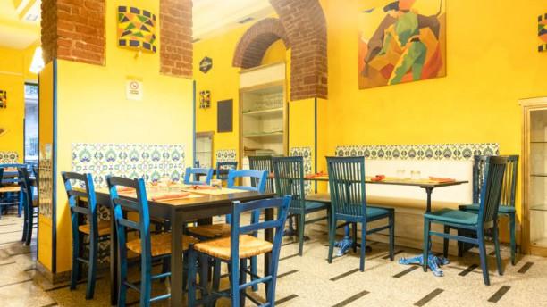 LA SANGRIA+34 (tapas,paella,steakhouse) Vista sala