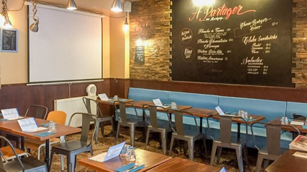 Le Marigny Salle du restaurant