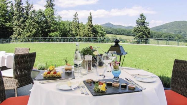 Le jardin des violettes in soultz haut rhin restaurant for Jardin lee menu