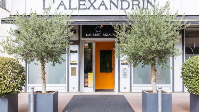 Devanture - L'Alexandrin - Laurent Rigal, Lyon