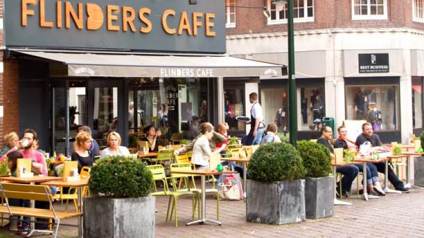 Flinders Café Restaurant Hilversum ingang
