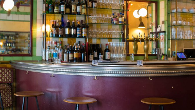 Vue de la salle - Clown Bar, Paris