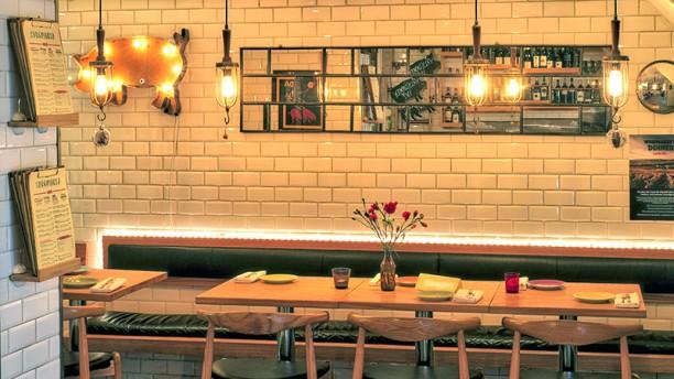 Xarcuteria Restaurangens rum