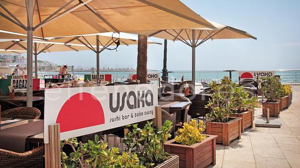 Usaka vista terraza