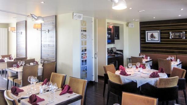 Oh! Mouettes salle du restaurant à l'étage