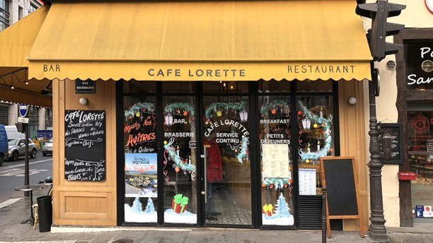Cafe Lorette Devanture
