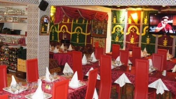 La Table Marocaine du XVéme Aperçu de l'intérieur