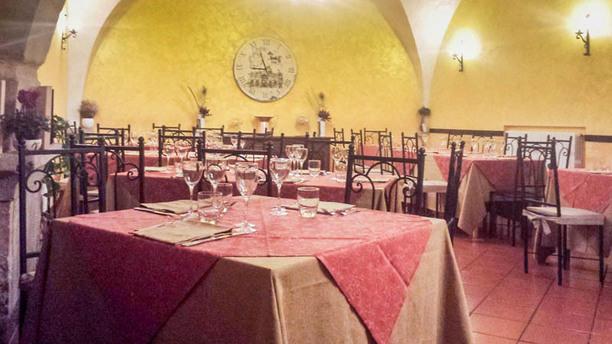 La Vecchia Cantina dei Sapori La sala