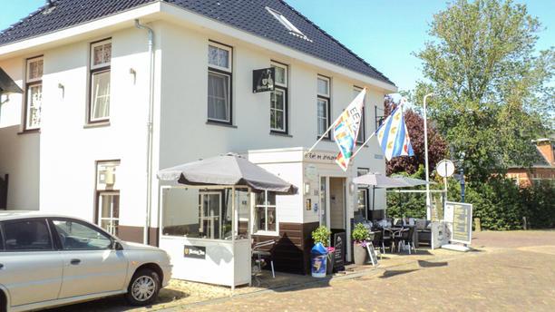 Cafe Restaurant Spoorzicht Het restaurant