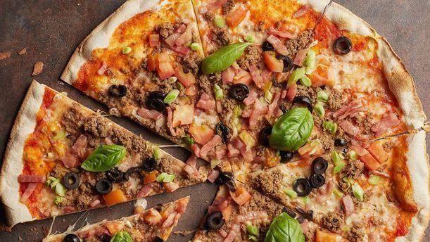 Ginos - Diagonal Mar Pizza atún y bacon