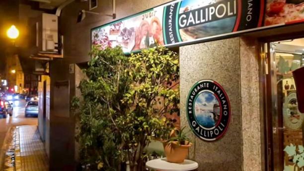Restaurant Gallipoli Entrada