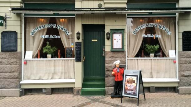 Perssons kök och bar entrance