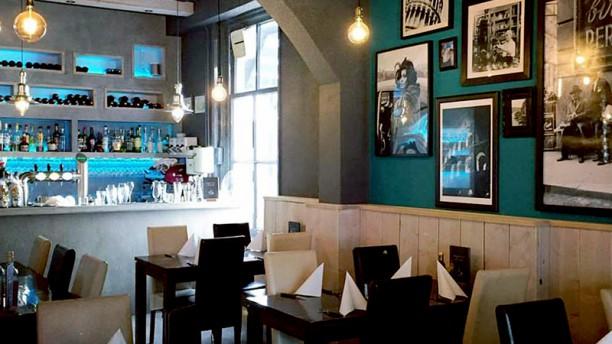 Rossetti Het restaurant