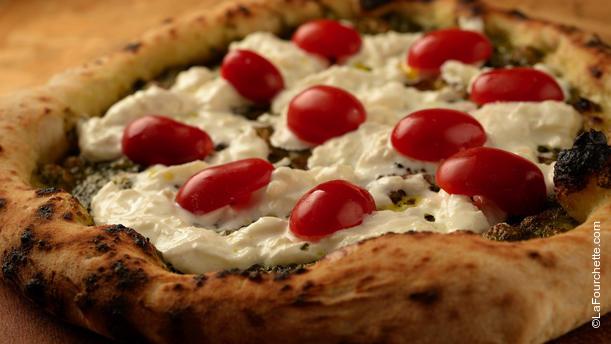 Buonissimo Pizza pesto e stracciatella