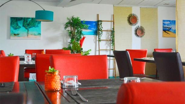 Restaurant/Bar Aux 7 Iles Vue de la salle