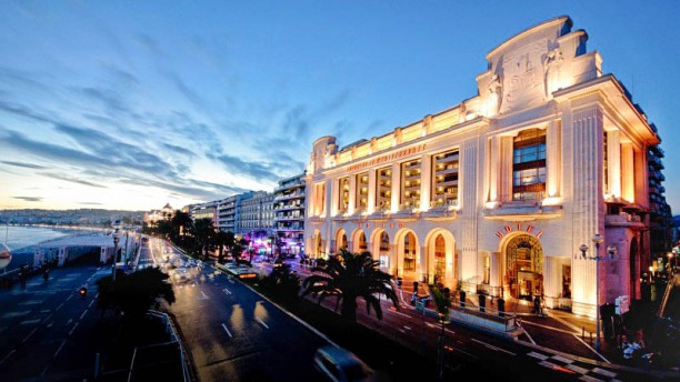 Le 3e - Hyatt Regency Palais de la Méditerranée Façade art deco classée