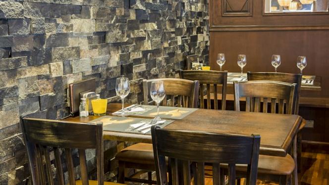 Détail table - Grimbergen Café, Brussels