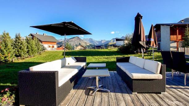 L'Ancolie Terrasse et jardin