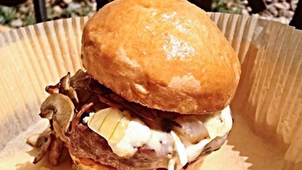 Beachburg Burger con champiñones