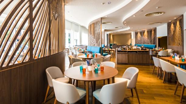 La Table Euromed Vue de la salle