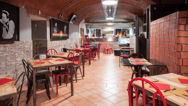 BackStage Club Sala del ristorante