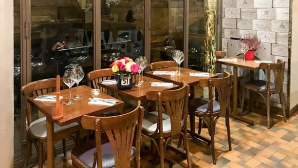 Le Régent Salon du restaurant