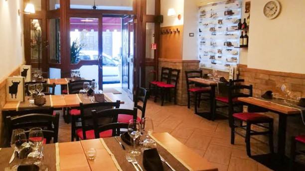 La Taverna del Buttero Vista sala