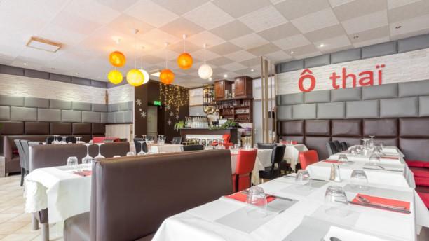 O Thaï Salle du restaurant