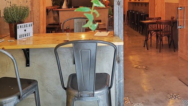 Un Lugar Lounge & Resto Bar Vista sala