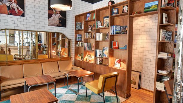 La Brasserie Moderne Vue de l'intérieur