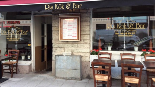 Ris kök & bar Entrance