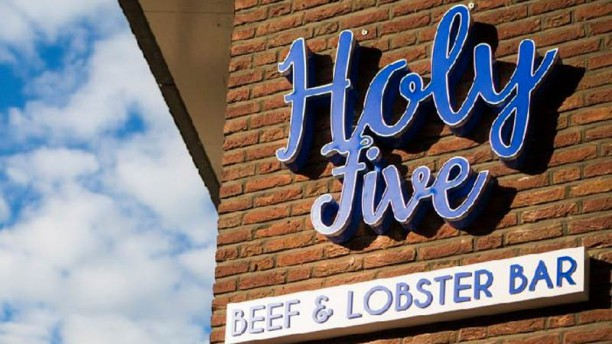 Holy Five | Beef & Lobster Bar logo