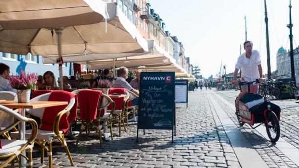 Nyhavns Cafeen Terrass