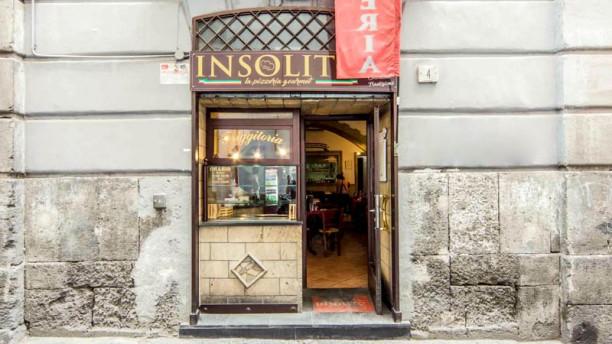 Insolito La Pizzeria Gourmet Entrata