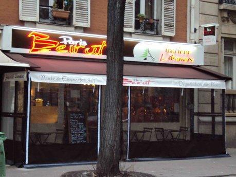 Paris Beirut Devanture