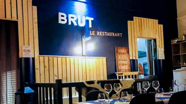 BRUT le restaurant Vue de l'intérieur